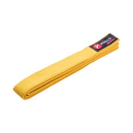 Пояс для единоборств Rusco 260 см, желтый