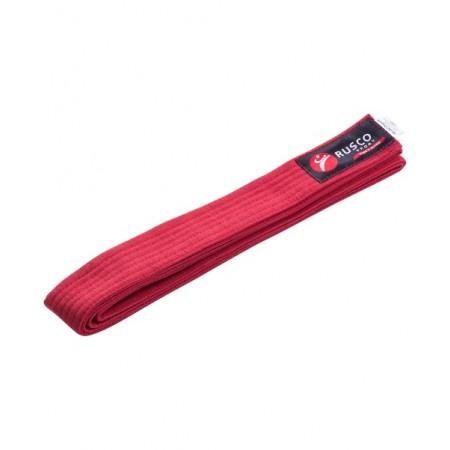 Пояс для единоборств Rusco 260 см, красный